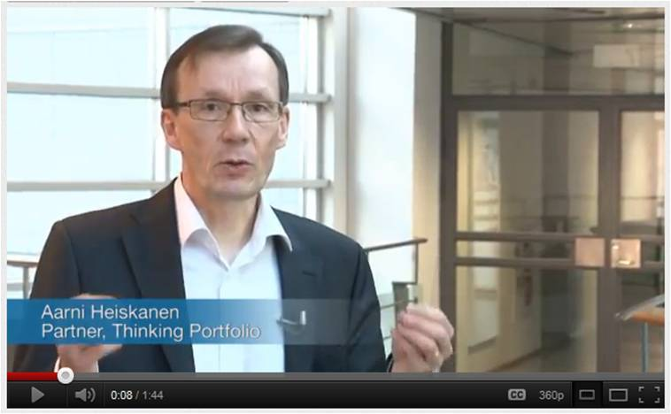 Thinking Portfolio PPM Fact Video