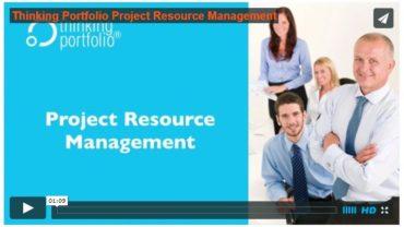 Katso Thinking Portfolio Projektisalkun Resurssienhallinnan esittely – 60 sekuntia (video)
