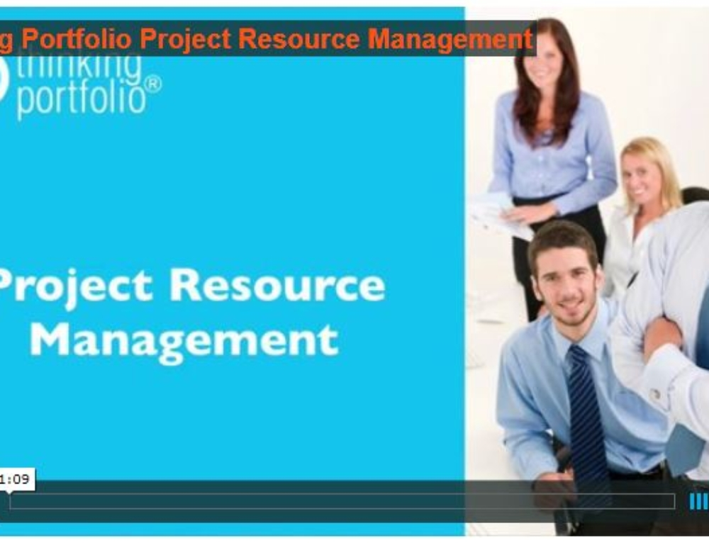 Bekijk Thinking Portfolio PPM Resource Management in 60 seconden  (video)