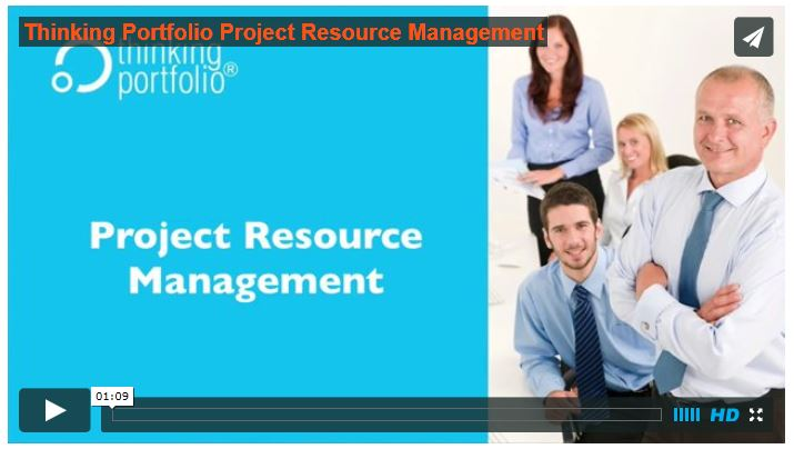 See Thinking Portfolio PPM Resource Management in 60 seconds (video)