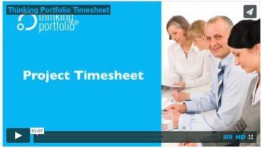 Bekijk Thinking Portfolio Timesheet in 60 Seconden (video)