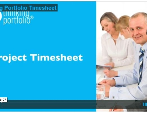 Bekijk Thinking Portfolio Timesheet in 60 Seconden (video)