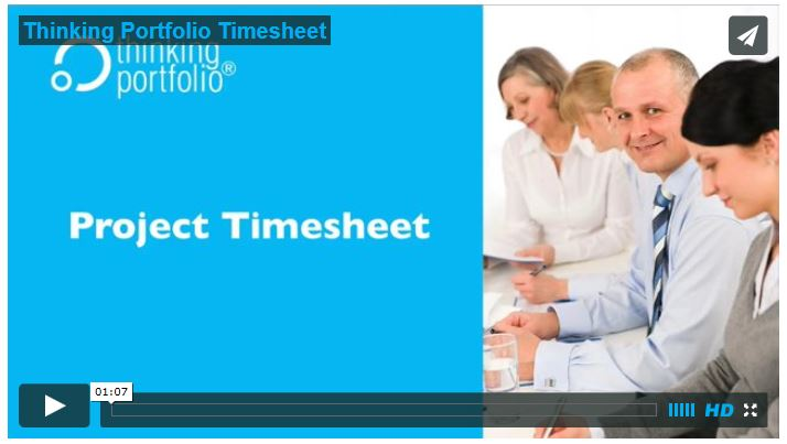 See Thinking Portfolio Timesheet in 60 Seconds (video)