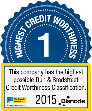 Thinking Portfolio kuuluu Dun & Bradstreetin parhaaseen luottoluokkaan 2015