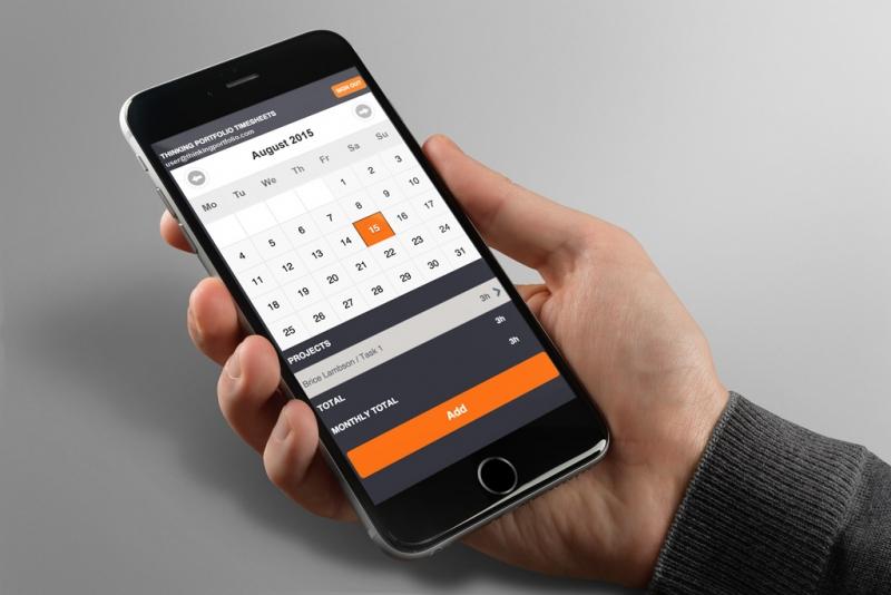 Thinking Portfolio Mobile Timesheet Released