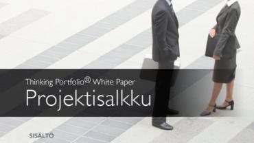 Uutta! Thinking Portfolio – White Paper – Projektisalkku