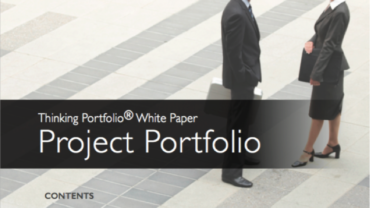 New! Thinking Portfolio – Project Portfolio – White Paper – 2016
