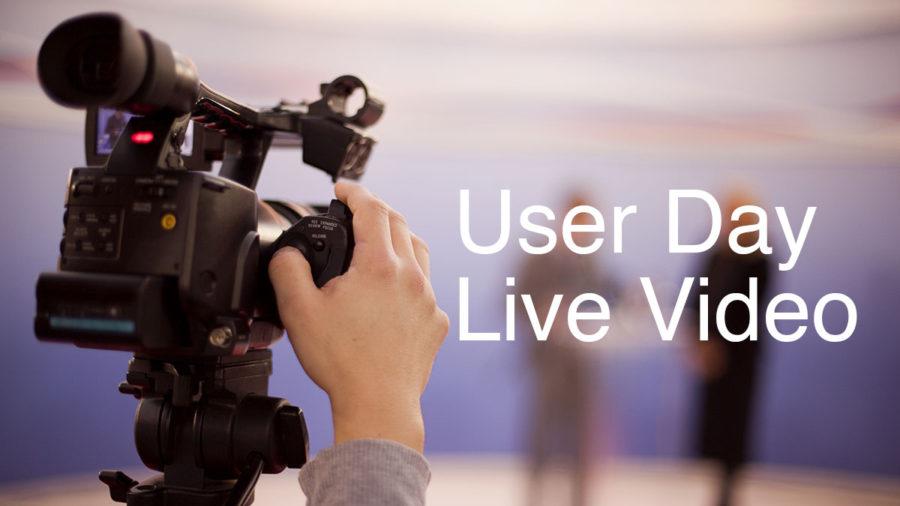 Käyttäjäpäivä 2016 videoidaan suorana lähetyksenä