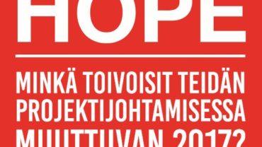 Thinking Portfolio auttaa Suomen Punaista Ristiä Projektipäivällä HOPE-haasteella