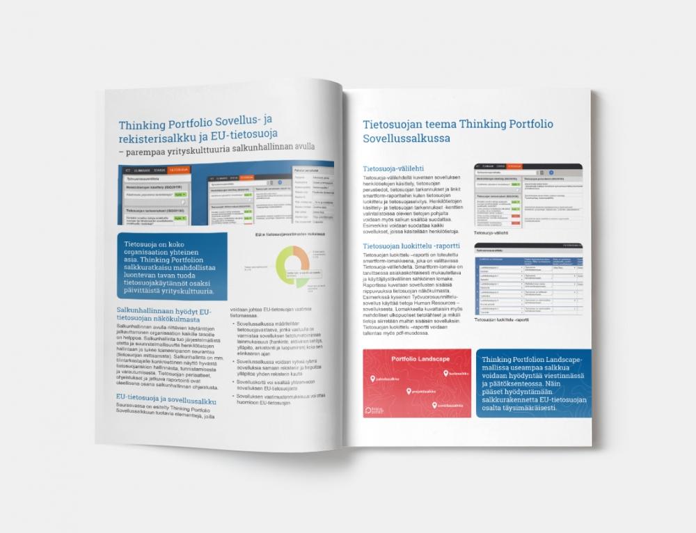 GDPR ja Thinking Portfolio Sovellussalkku (PDF-esite)
