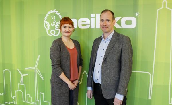 Henkilökuvassa: Project Controller Satu Kannelvirta sekä CEO Topi Paananen