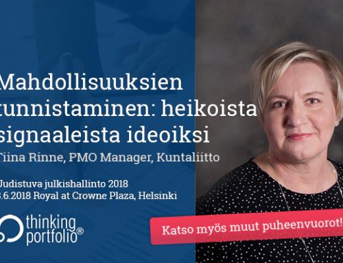 Uudistuva julkishallinto 2018 – Salkunhallinta alueellisen elinvoiman ja hyvinvoinnin johtamisessa