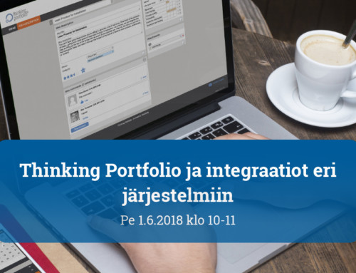 Webinaari: Thinking Portfolio ja integraatiot eri järjestelmiin
