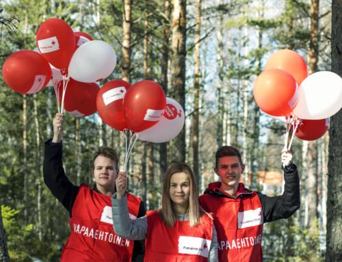 Vapaaehtoiset auttajat: Suomen Punainen Risti ja Thinking Portfolio