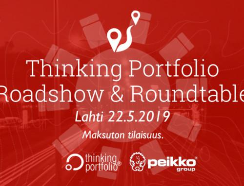 Thinking Portfolio – Intohimona salkunhallinta Roadshow & Roundtable, Lahti 22.5. 🗓