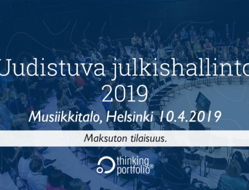Uudistuva julkishallinto 2019 – ilmoittaudu mukaan! 🗓
