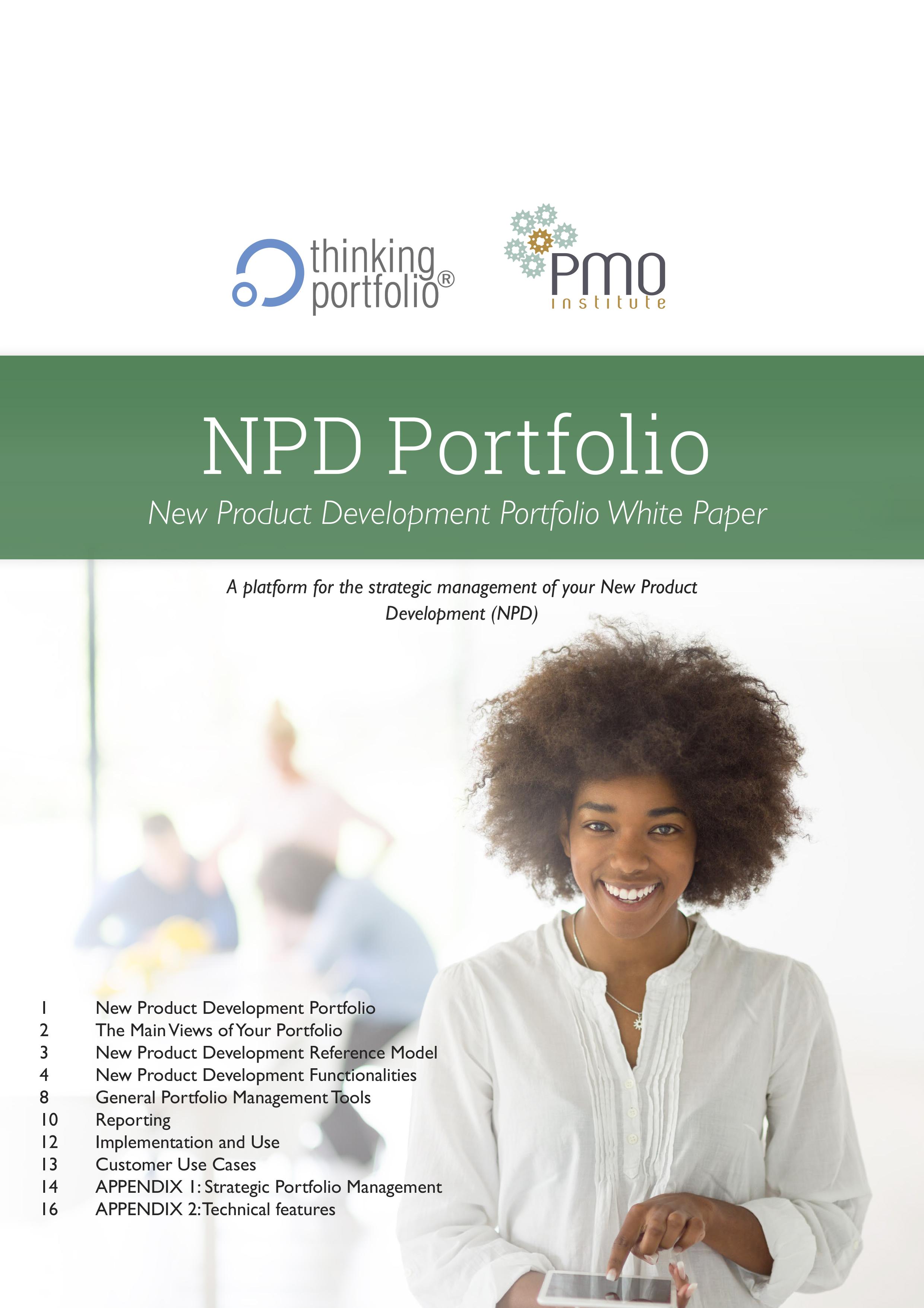 Thinking Portfolio NPD Portfolio