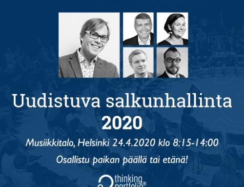 Uudistuva salkunhallinta 2020, 24.4.2020 klo 8:15-14:00